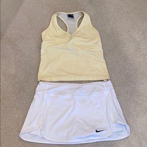 Nike Tennis skirt and tank